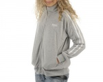 Lonsdale Polar Fleece Lds Grey Marl - mikina - veľ. XL (16)