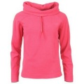 Miss Fiori Cowl Neck Polar Fleece Hot Pink - mikina - veľ. M (12)