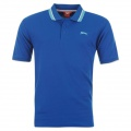 Slazenger Tipped Polo Mens Royal - tričko - veľ. XXXXL (4 XL)